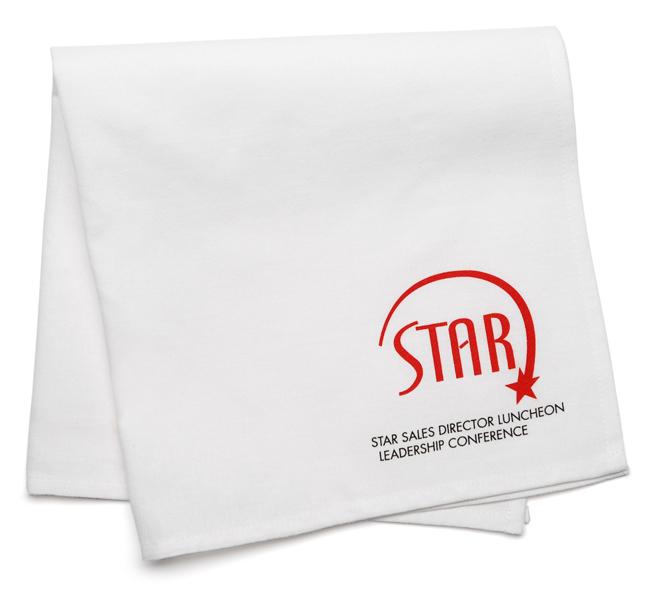 logo napkins. napkins logo ameritex industries