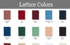 Lattice Color Chart
