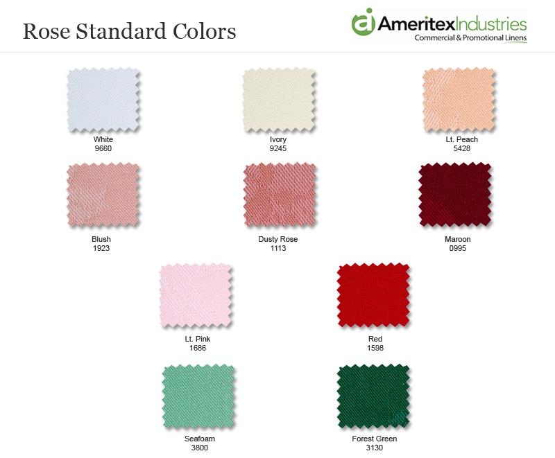Rose Pattern Table Linens Milliken Napkins amp Tablecloths